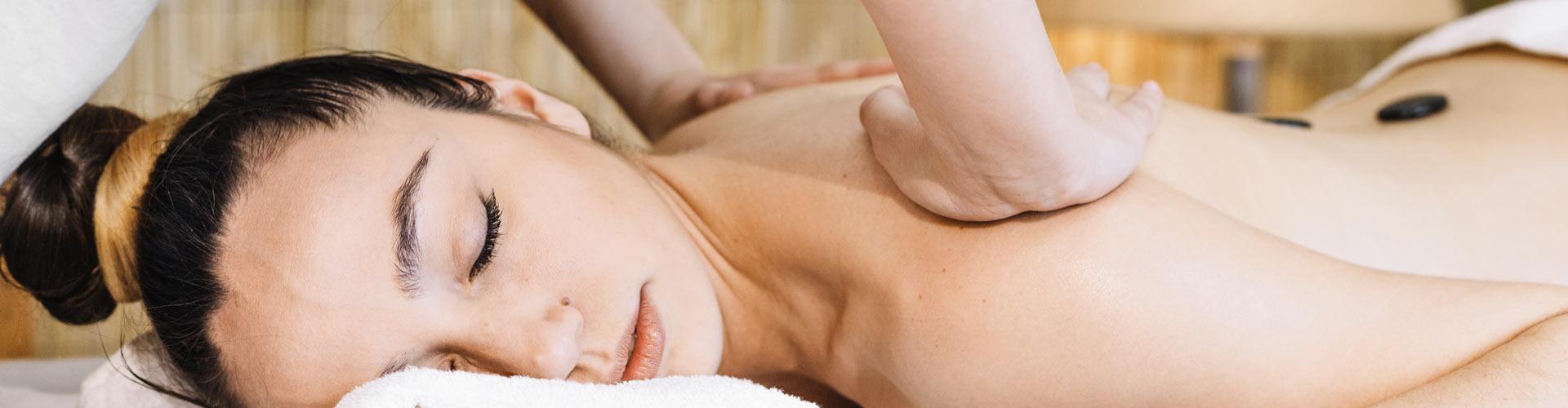 Un massage du dos